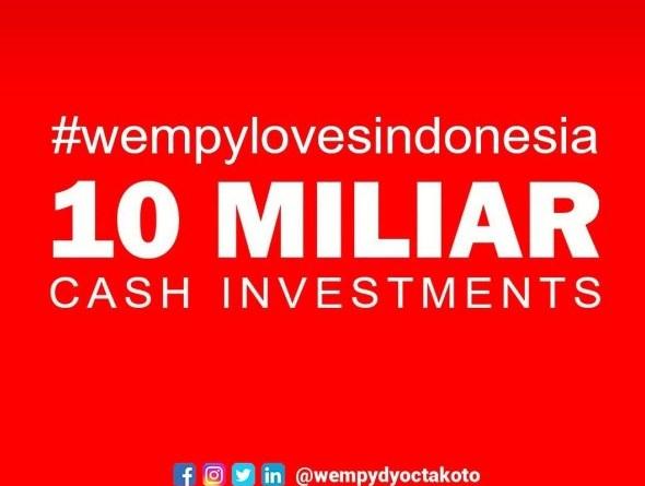 Pendanaan Startup dan UKM Indonesia 10 Milyar dari Wempy Dyocta Koto