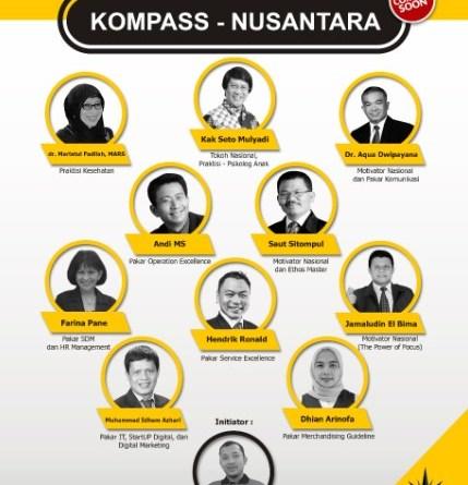 10 INSPIRATOR KOMPASS NUSANTARA