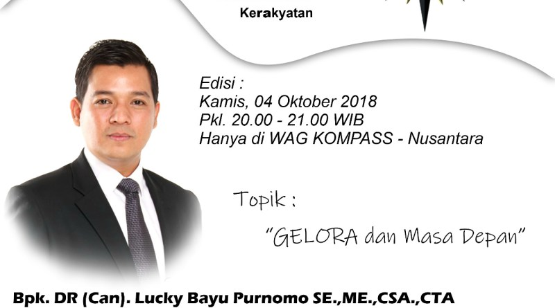 Program GELORA KOMPASS Nusantara 4 Oktober 2018