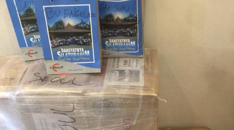 Naik Garuda Indonesia Ratusan Buku Dahsyatnya Silaturahim Diterbangkan ke Singapura, Hongkong, dan Seoul