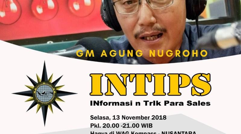 Program INTIPS KOMPASS Nusantara 13 November 2018