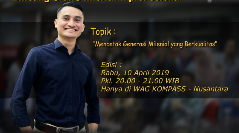Program Biografi KOMPASS Nusantara 10 April 2019