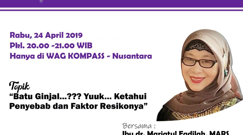 Program KLINIK KOMPASS Nusantara 24 April 2019