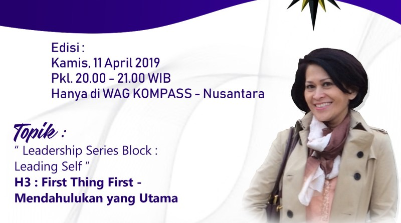 Program OBSESI KOMPASS Nusantara 11 April 2019
