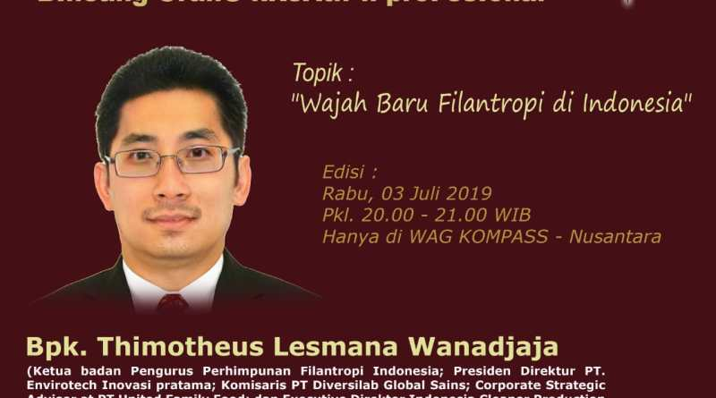 Program Biografi KOMPASS Nusantara 3 Juli 2019