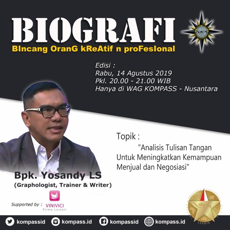 Program Biografi 23 Agustus 2017