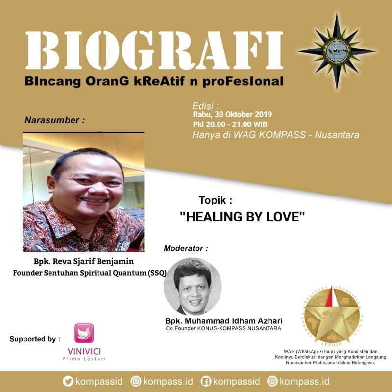 Program BIOGRAFI KOMPASS Nusantara 30 Oktober 2019