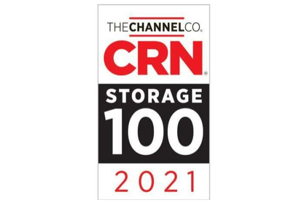 Image of CRN Storage 100 Award fro 2021
