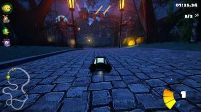 SuperTuxKart Gameplay - Estate Environment