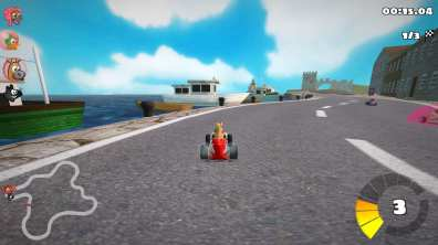SuperTuxKart: A Linux game