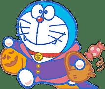 gambar doraemon halloween