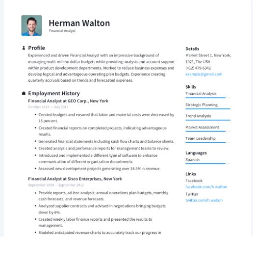 Situs untuk Membuat CV Kreatif, Menarik dan Mudah
