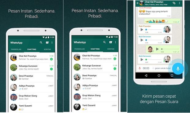 Aplikasi Chatting Terbaik Android