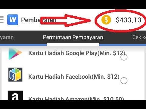 WHAFF Reward Penghasil Uang Online Terbaik