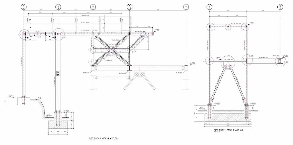 Pipe Racks & Platforms Design