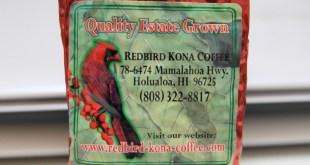 redbird kona coffee review