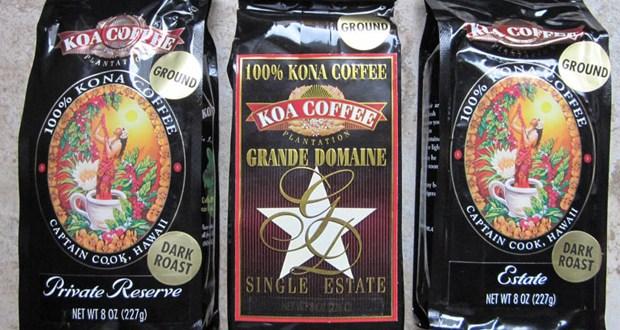 koa kona coffee reviews - peaberry coffee