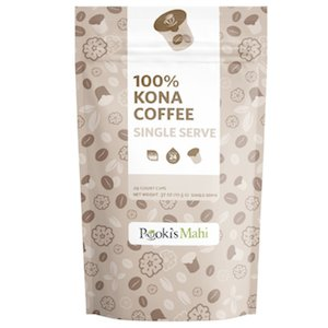 pooki's mahi 100 kona k-cup coffee