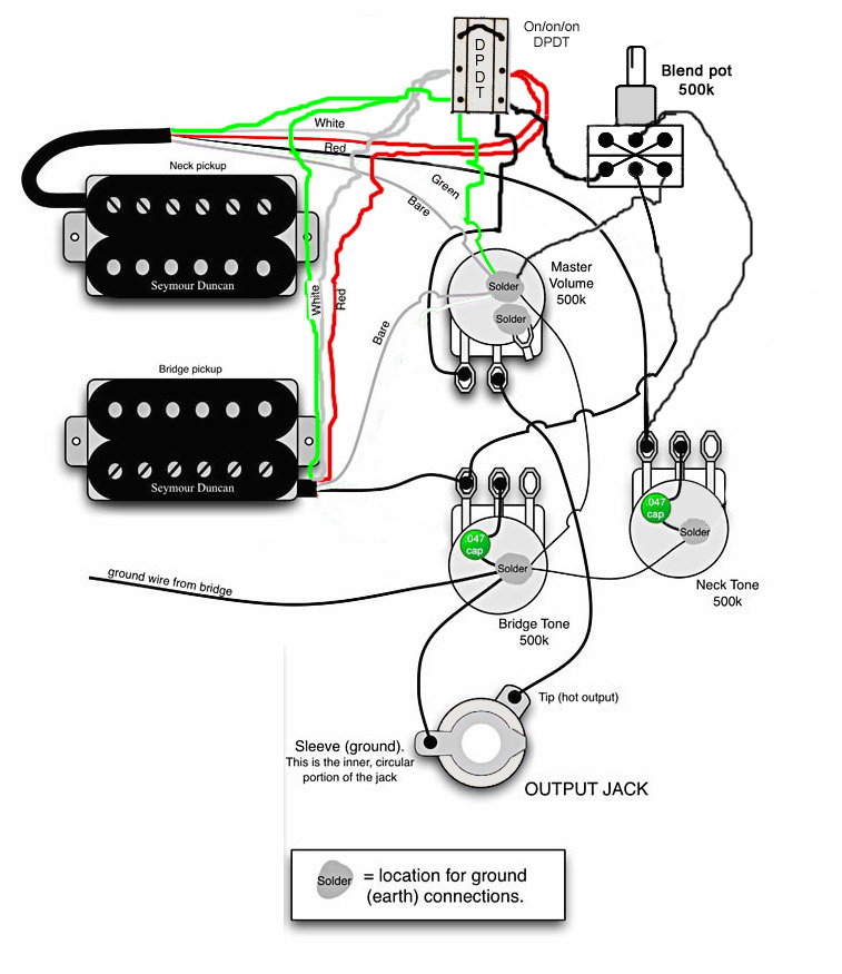Guitar Pickup Wiring Diagrams. Guitar. Free Wiring