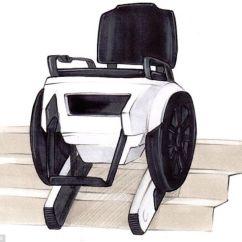 Tank Chair Wheelchair Ikea Small Table And Chairs Un Fauteuil Roulant Qui Monte Les Escaliers, L'invention Géniale D'étudiants