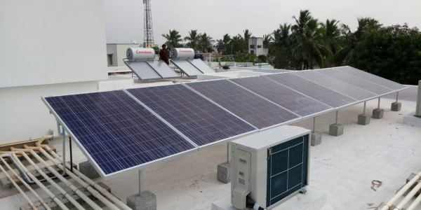 Solar Power Plants Layout - Year of Clean Water