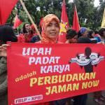 16 Hari Anti Kekerasan terhadap Perempuan, Buruh Perempuan Tuntut Perusahaan Hapus Upah Padat Karya