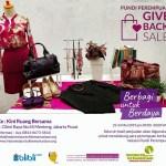 Give Back Sale, Barang Pre-Loved dan Donasi untuk Perempuan