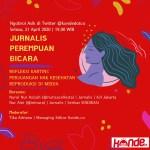 Jurnalis Perempuan Bicara Soal Kartini dan Hak Kesehatan Reproduksi di Media