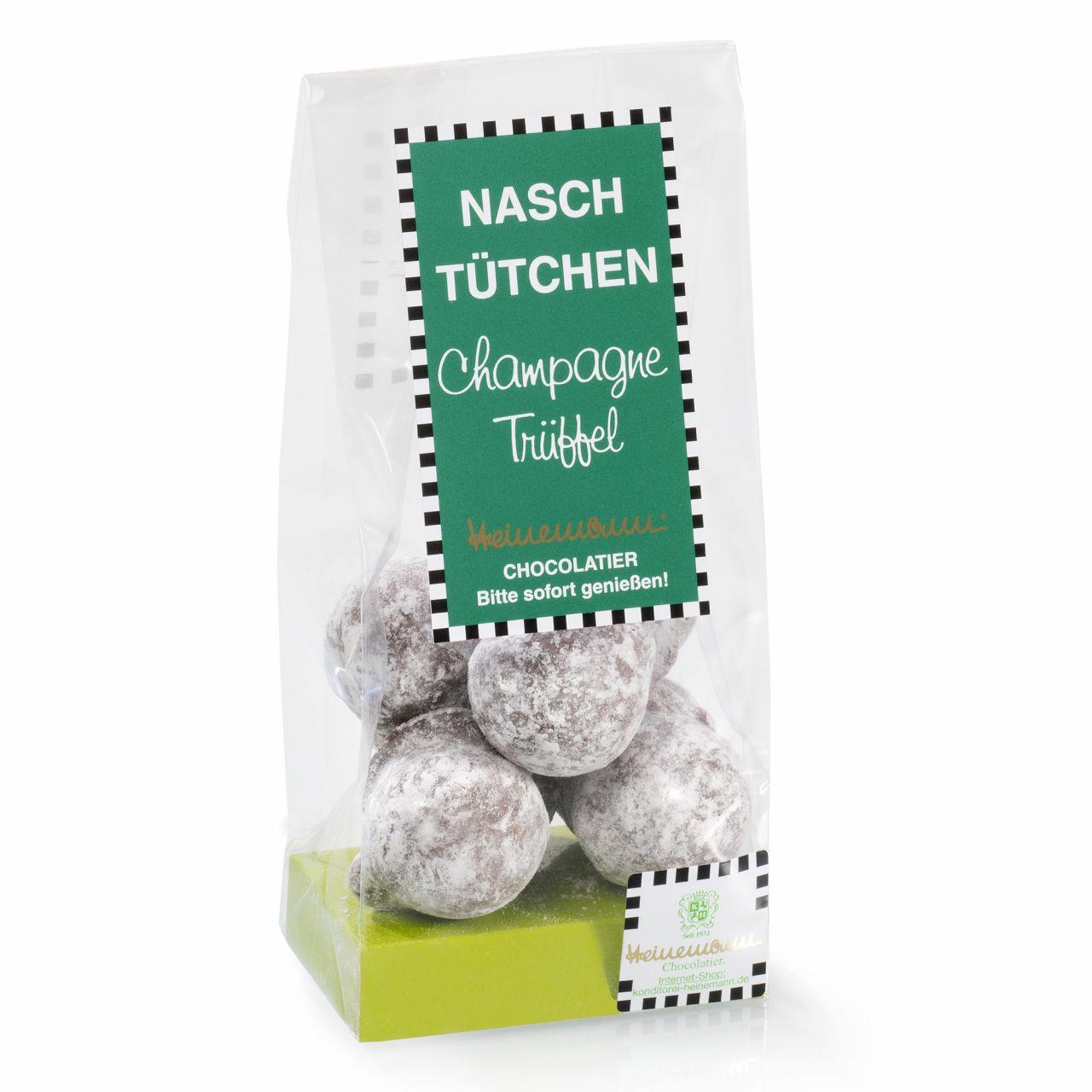 Konditorei Heinemann  Naschttchen Champagne Trffel