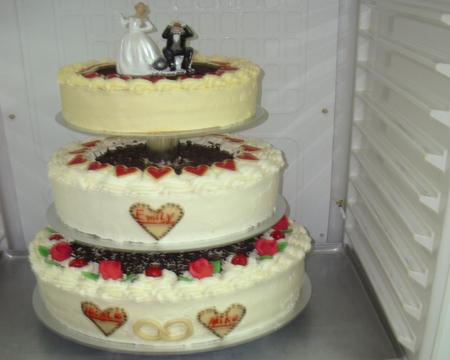 Konditorei Titz  Hochzeitstorten