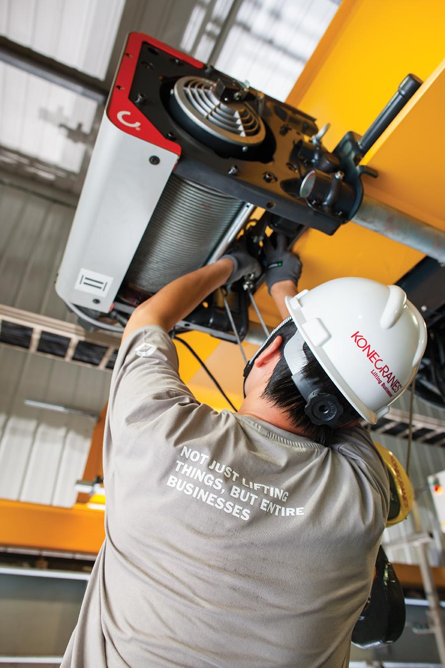 Overhead Crane Repair  Crane Repair  Konecranescom