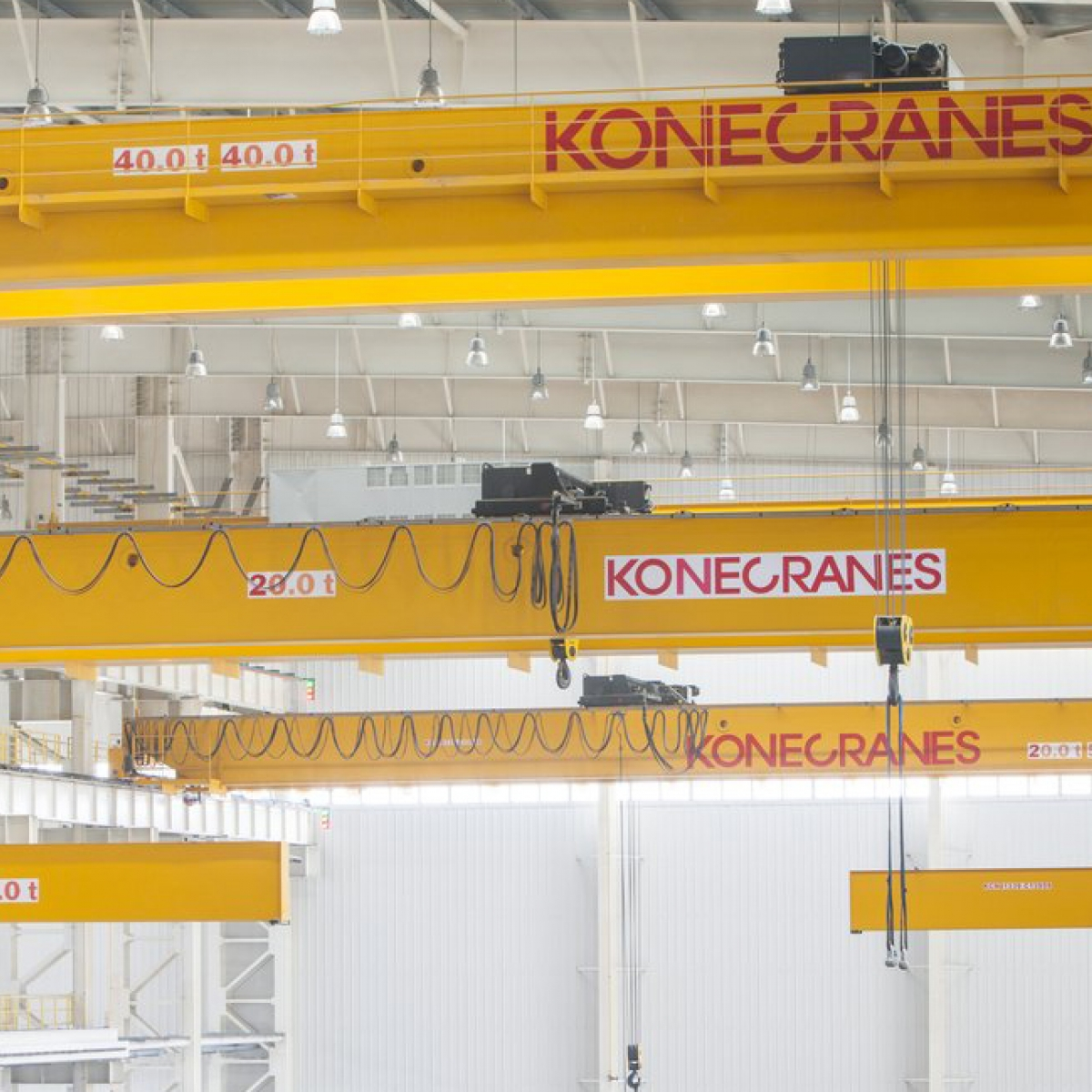 hight resolution of overhead crane terminology