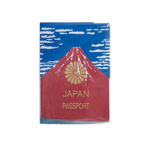 パスポートケース Akafuji