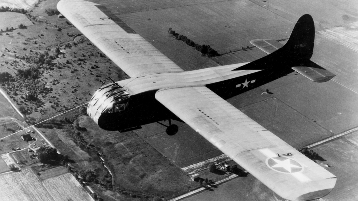 Szybowiec transportowy CG-4A w służbie USAF