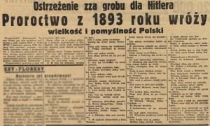 28_08_1939_Goniec_Warszawski_proroctwo