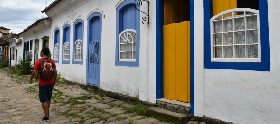 A colorful stay in Paraty