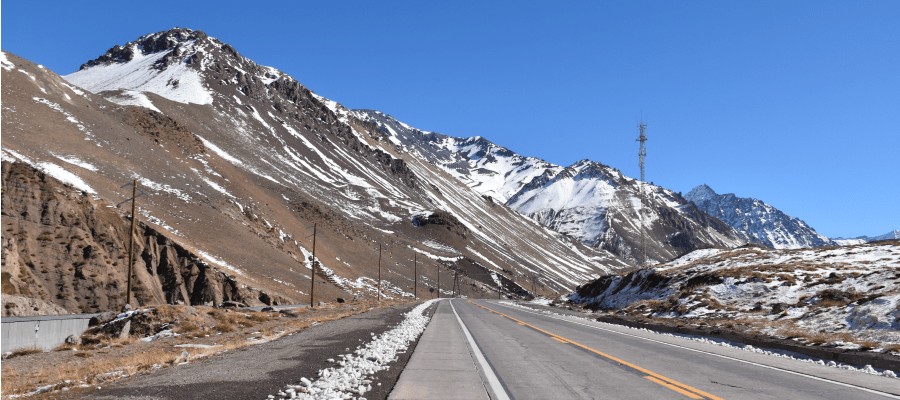 Crossing the Andes – back in Argentina!