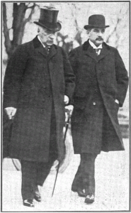 J.P. Morgan und J.P. Morgan Jr