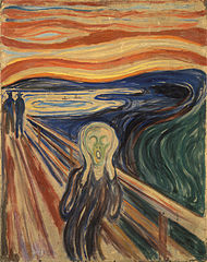 Edvard Munch - Der Schrei - Bildquelle: Wikipedia / Google Art Project