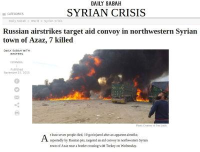 Daily Sabah - Bildquelle: Screenshot-Ausschnitt www.dailysabah.com