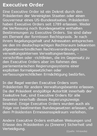 Executive Order - Bildquelle: www.konjunktion.info