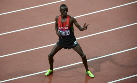 Kenyan Gold Medalist