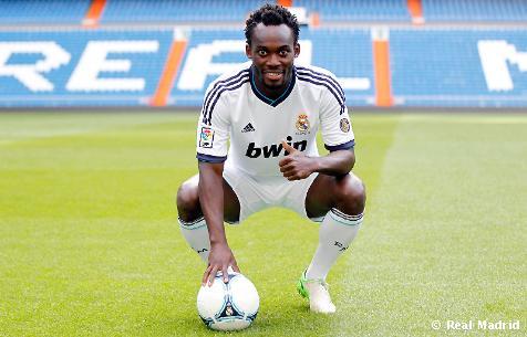 African Goal Scorers in Europe: 3-5 November 2012 – BBC