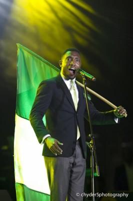 Our own Timi Dakolo representing Naija fully.