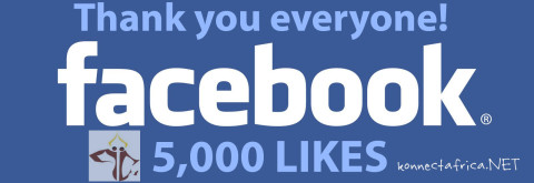 Konnect Africa Facebook Page 5000 likes