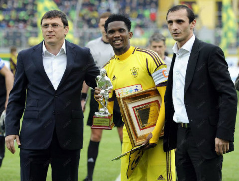 Named Best Player of the Russian Premier League