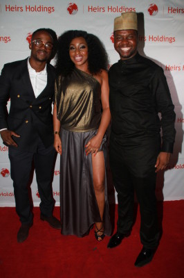 Iyanya, Rita Dominic, Adebola Williams