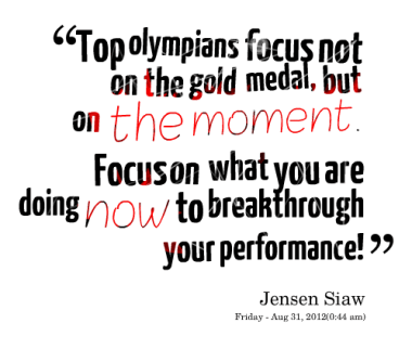 Inspirational Picture Quotes on The Power of Focus