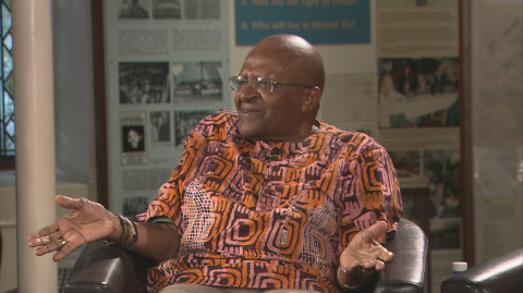 When African Nobel Prize winners Desmond Tutu