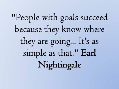 Earl Nightingale on Goals